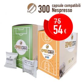 Bombercaffe' Grancrema 300 pz (Nespresso)