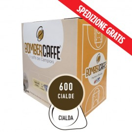 BOMBERCAFFE GRANCREMA 600 Pz (Cialde 44 Ese)