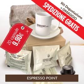 Kit degustazione Bombercaffe - Espresso point
