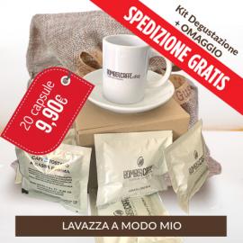 Kit degustazione Bombercaffe - A Modo Mio